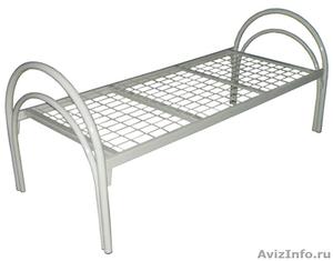 двухъярусные металлические кровати для интернатов и санаториев, для рабочих - Изображение #3, Объявление #689287