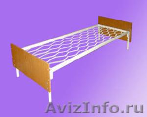 двухъярусные металлические кровати для интернатов и санаториев, для рабочих - Изображение #5, Объявление #689287