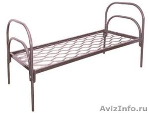 двухъярусные металлические кровати для интернатов и санаториев, для рабочих - Изображение #4, Объявление #689287