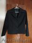 Костюм: пиджак+юбка черного цвета на школьницу рост150-152см
