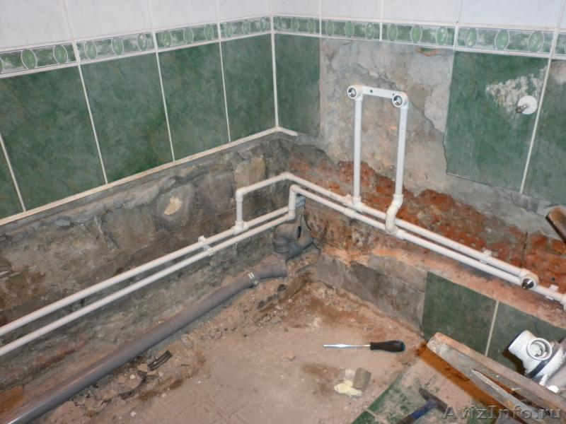 Полипропиленовые трубы ванная своими руками