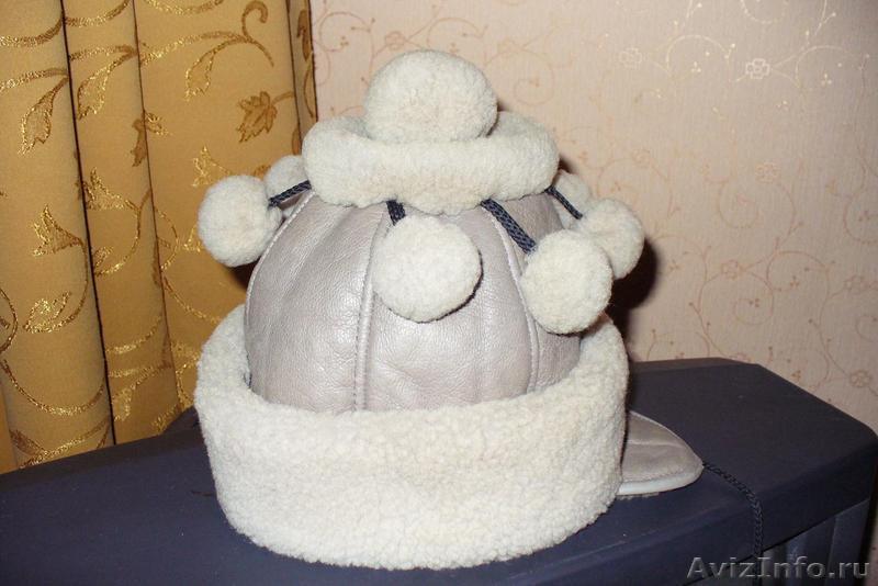 Детская зимняя шапка на девочку 5-8 лет, Объявление #1451119