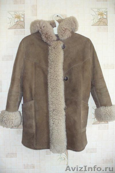 Продам детскую зимнюю дублёнку отделанную натуральным мехом, Объявление #1508525