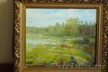 Картина летний пейзаж на опушке леса, Объявление #1577480